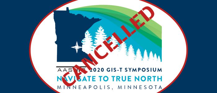 GIS-T Symposium Cancelled