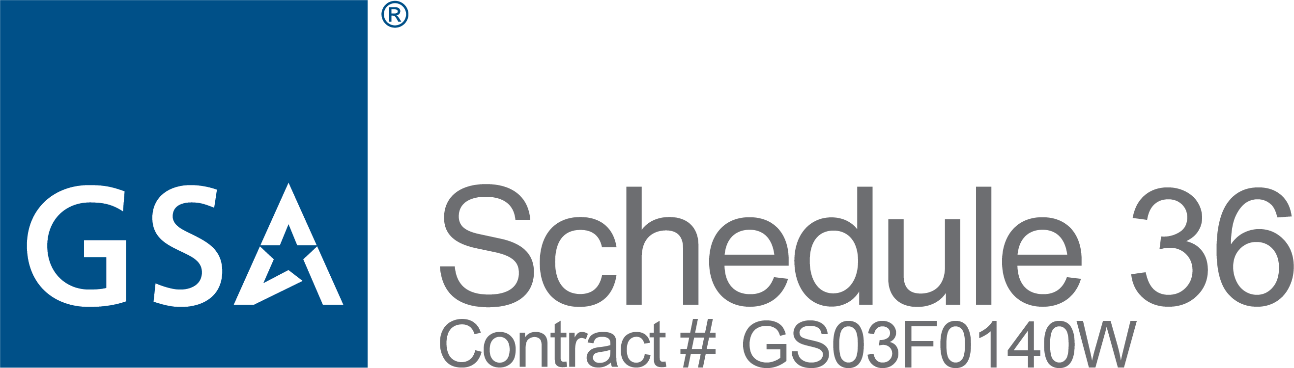 GSA Schedule 36 Contract GS03F0140W