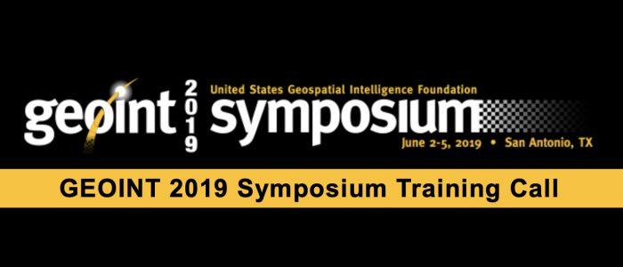 GEOINT Symposium 2019 (logo)