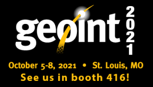 See us in booth 416 at GEOInt 2021!